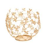 gold Carolyn Donnelly Eclectic Wire Tealight Holder