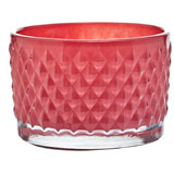 red Carolyn Donnelly Eclectic Dia Tealight Holder