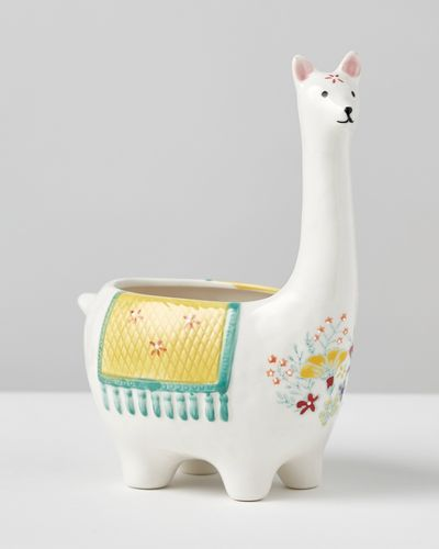 Carolyn Donnelly Eclectic Llama Ceramic Planter