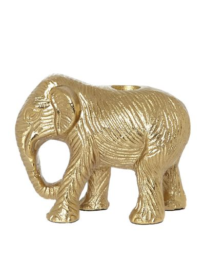 Carolyn Donnelly Eclectic Elephant Candle Holder