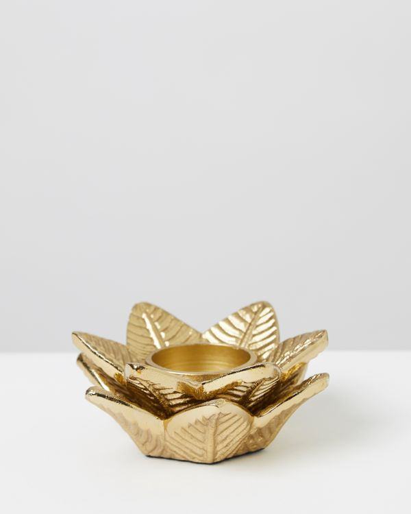 Carolyn Donnelly Eclectic Palm Tealight Holder