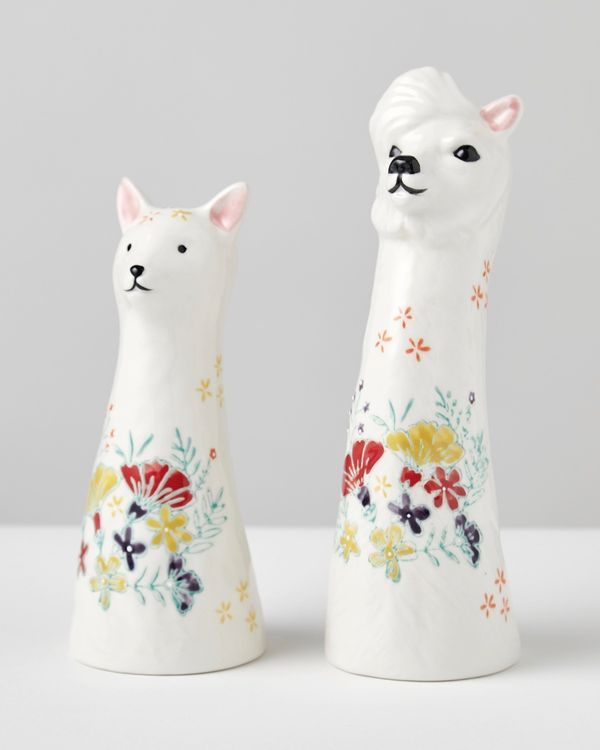 Carolyn Donnelly Eclectic Llama Vase