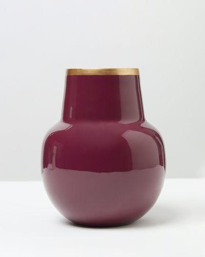 Carolyn Donnelly Eclectic Medium Enamel Vase thumbnail