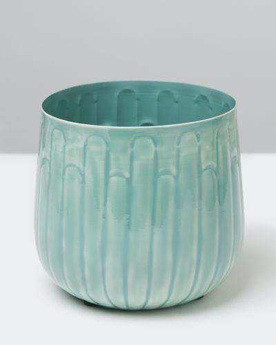 Carolyn Donnelly Eclectic Enamel Pot
