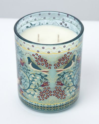 Carolyn Donnelly Eclectic Bird Decal Two Wick Candle thumbnail