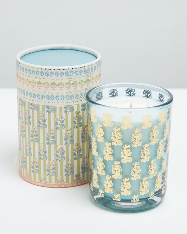 Carolyn Donnelly Eclectic Printed Candle With Printed Box