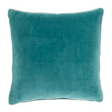 dark-green Carolyn Donnelly Eclectic Velvet Cushion