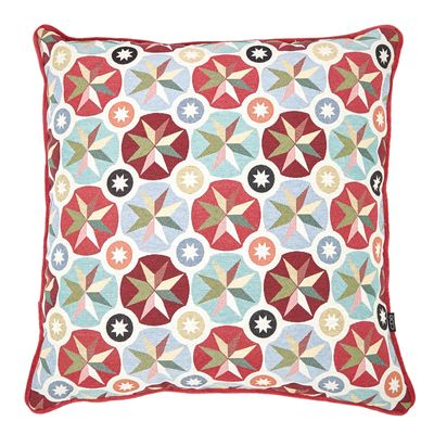 Carolyn Donnelly Eclectic Geo Starburst Cushion thumbnail