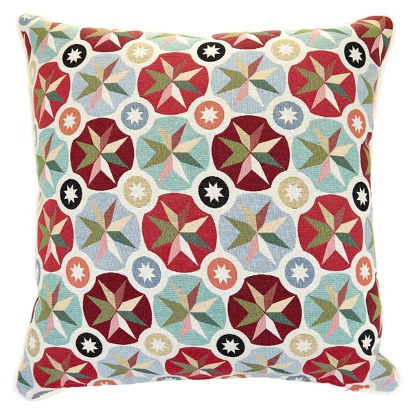 Carolyn Donnelly Eclectic Geo Starburst Cushion