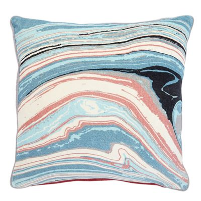 Carolyn Donnelly Eclectic Marble Print Cushion thumbnail