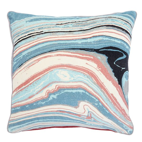 Carolyn Donnelly Eclectic Marble Print Cushion