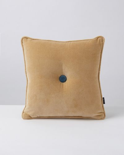 Carolyn Donnelly Eclectic Velvet Button Cushion