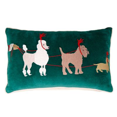 Carolyn Donnelly Eclectic Christmas Cushion thumbnail