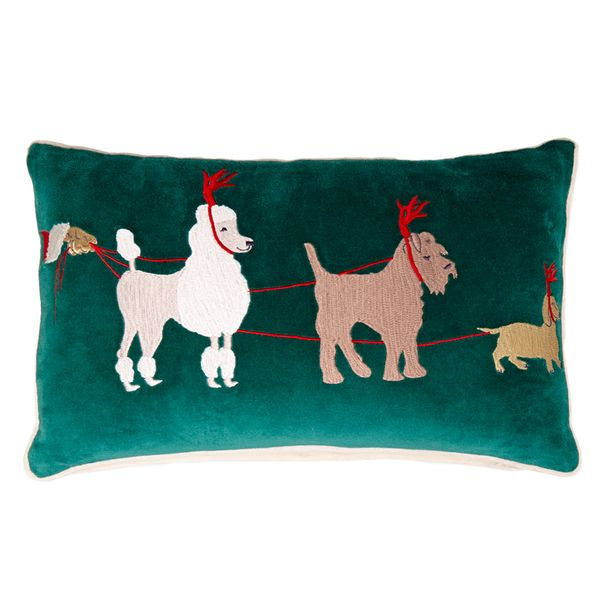 Carolyn Donnelly Eclectic Christmas Cushion