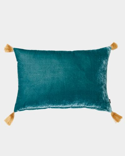 Carolyn Donnelly Eclectic Tassel Cushion Rectangle