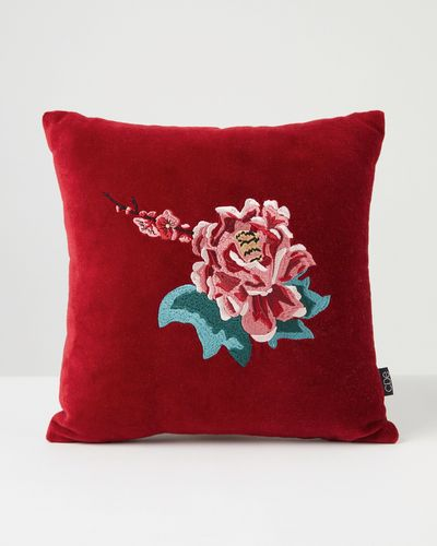 Carolyn Donnelly Eclectic Embroidered Scatter Cushion