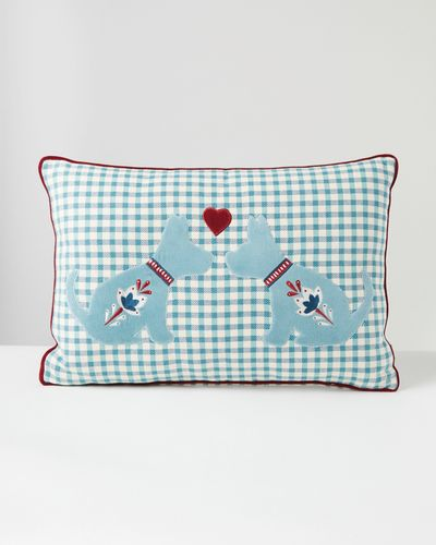 Carolyn Donnelly Eclectic Rectangle Dog Cushion