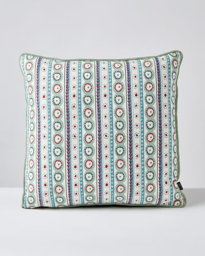 Carolyn Donnelly Eclectic Flower Cushion