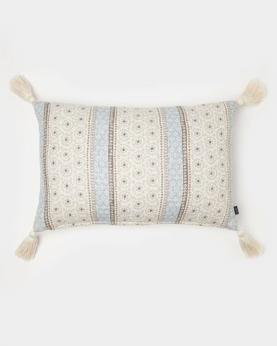 Carolyn Donnelly Eclectic Rectangular Slub Cushion