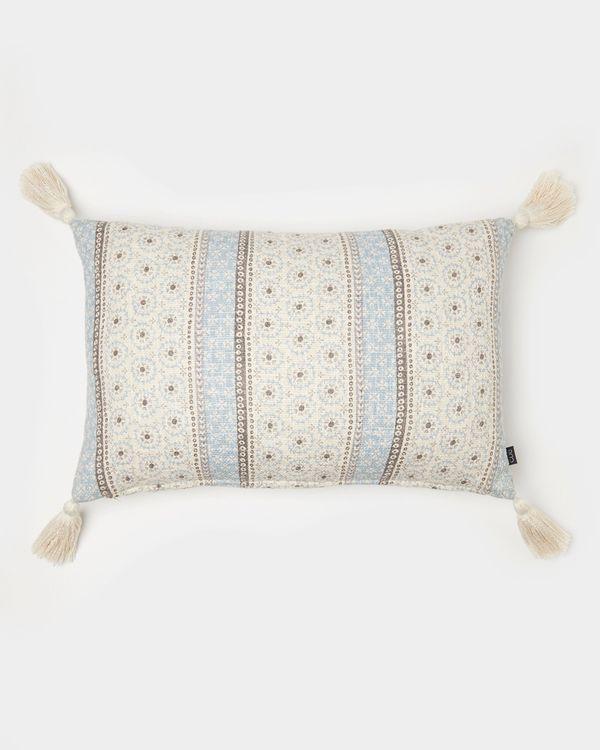 Carolyn Donnelly Eclectic Rectangular Slub Cushion