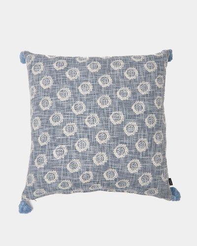 Carolyn Donnelly Eclectic Slub Tassel Cushion