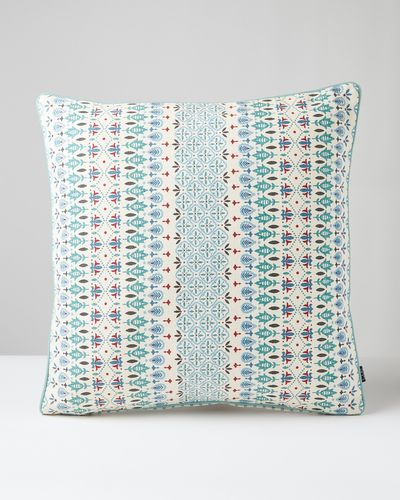 Carolyn Donnelly Eclectic Geo Heavy Cotton Cushion