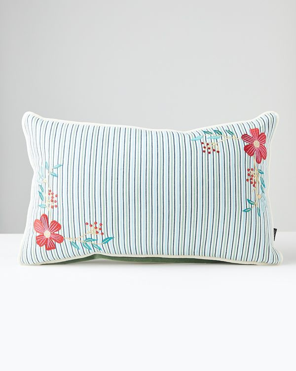Carolyn Donnelly Eclectic Bloom Rectangle Cushion