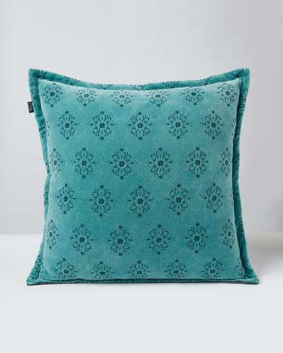 Carolyn Donnelly Eclectic Printed Velvet Cushion