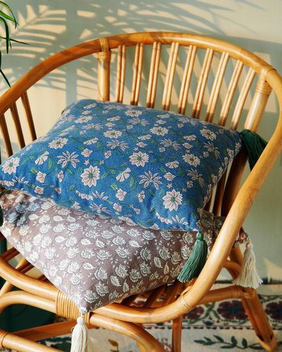 Carolyn Donnelly Eclectic Floral Print Cushion