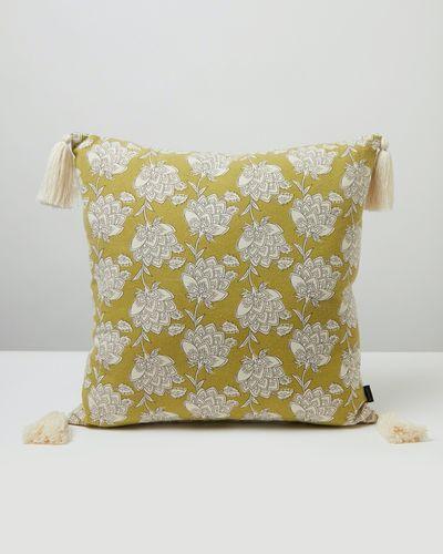 Carolyn Donnelly Eclectic Fleur Leaf Cushion