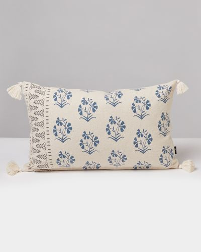 Carolyn Donnelly Eclectic Block Print Rectangular Cushion