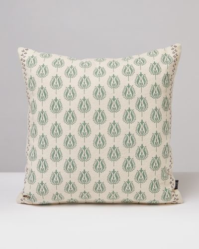 Carolyn Donnelly Eclectic Block Print Square Cushion