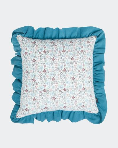 Carolyn Donnelly Eclectic Frilly Cushion