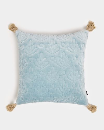 Carolyn Donnelly Eclectic Quilted Velvet Cushion