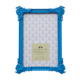 blue Carolyn Donnelly Eclectic Ornate Frame