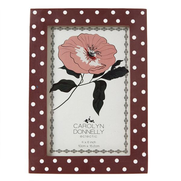 Carolyn Donnelly Eclectic Polka Dot Frame