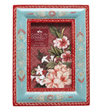 blue Carolyn Donnelly Eclectic Painted Border Frame