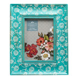 green Carolyn Donnelly Eclectic Wood Painted Frame