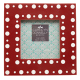 red Carolyn Donnelly Eclectic Dotty Frame