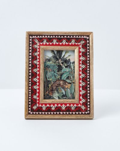 Carolyn Donnelly Eclectic Painted Border Frame