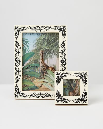 Carolyn Donnelly Eclectic Ornate Cream Border Frame