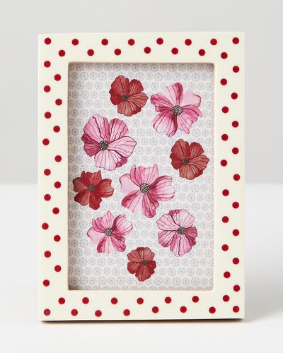Carolyn Donnelly Eclectic Polka Dot Picture Frame