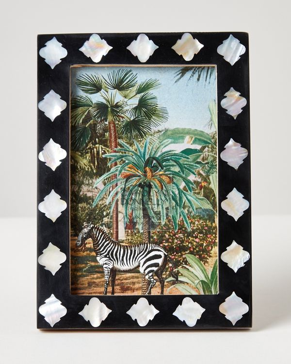 Carolyn Donnelly Eclectic Black Pearl Frame