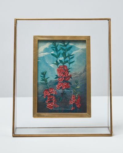 Carolyn Donnelly Eclectic Brass Grid Frame