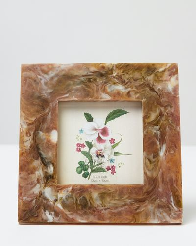 Carolyn Donnelly Eclectic Marbled Frame