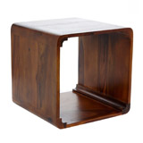 wood Carolyn Donnelly Eclectic Rosewood Cube