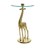 gold Carolyn Donnelly Eclectic Giraffe Table