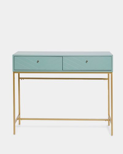 Carolyn Donnelly Eclectic Chevron Console Table thumbnail