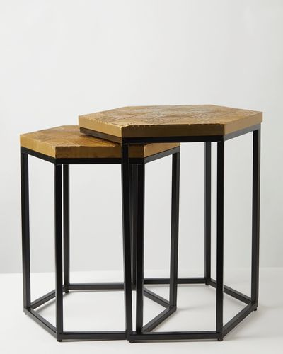 Carolyn Donnelly Eclectic Hexagon Table