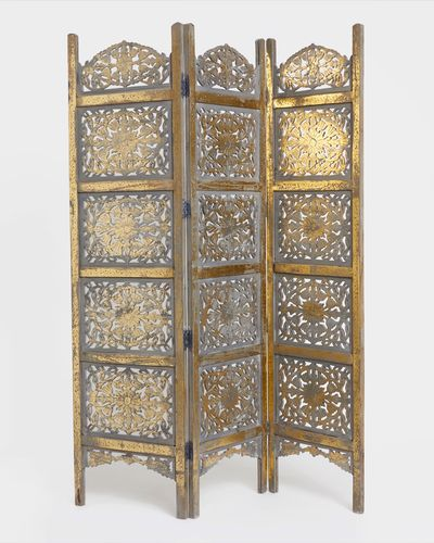 Carolyn Donnelly Eclectic Carved Screen